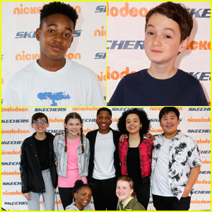 Issac Ryan Brown & Jason Maybaum Join 'All That' Cast at Skechers Pier To Pier Friendship Walk