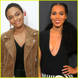 China Anne McClain Reacts to Kerry Washington Dressing Up As Descendants' Uma