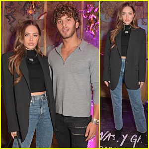 Delilah Belle Shows Off New Darker Hairdo at Nasty Gal Launch with Boyfriend Eyal Booker