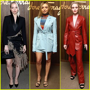 Dove Cameron, Peyton List, & Kathryn Newton Look So Chic at Hollywood Rising Event