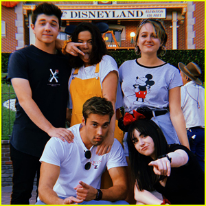 The 'I Didn't Do It' Cast Had a Reunion at Disneyland!