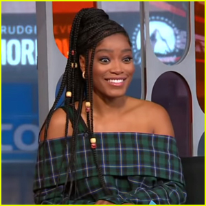 Keke Palmer Turns Herself Into a Meme Following Mike Johnson Asking Her Out on Television