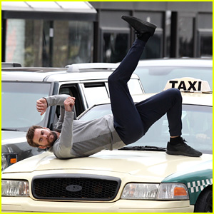 Liam Hemsworth Gets Hit By a Car While Filming 'Dodge & Miles'!