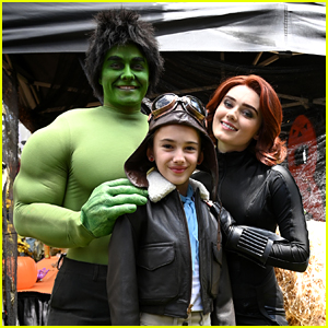 Meg Donnelly & Peyton Meyer Dress Up As This Marvel Could've Been Couple For Halloween on 'American Housewife'!