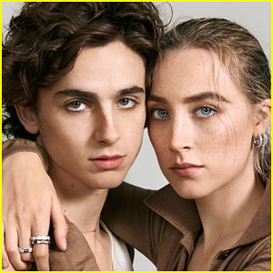 Timothee Chalamet Says It Doesn't Feel Like He's Acting When Working With Saoirse Ronan