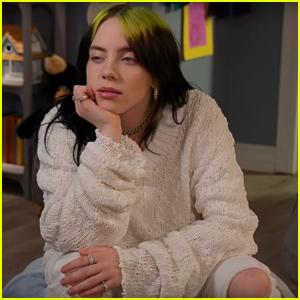 Billie Eilish Hilariously Interviews Kids About Their Sleeping Rituals - Watch!