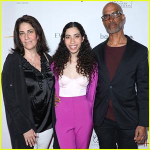 Cameron Boyce's Family - Sister Maya, & Parents Victor & Libby - Honored at Heller Awards 2019