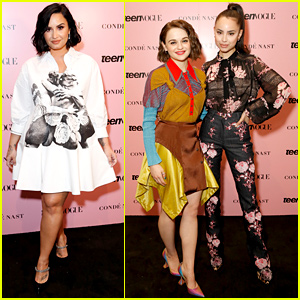 Demi Lovato, Joey King, & Sofia Carson Get Inspired at Teen Vogue Summit 2019
