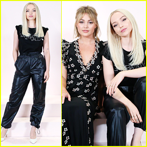 Dove Cameron & Olivia Holt Step Out For Giambattista Valli x H&M's Shopping Party in LA