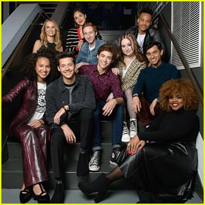 Olivia Rodrigo, Matt Cornett & Sofia Wylie Join 'HSM: The Musical: The Series' Cast at Build in NYC