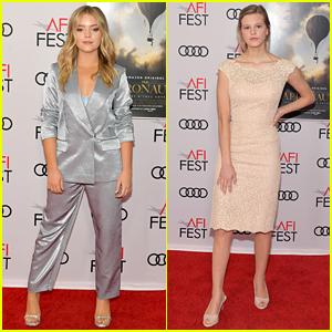 Jade Pettyjohn & Peyton Kennedy Premiere 'The Aeronauts' at AFI Fest 2019
