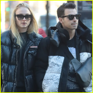 Joe Jonas & Sophie Turner Enjoy a Day Out in NYC