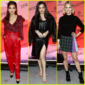 Brenda Song, Lilimar & Molly McCook Attend 29Rooms LA Opening Night