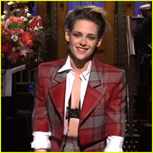 Kristen Stewart Asks the Crowd Questions on 'Saturday Night Live' - Watch!