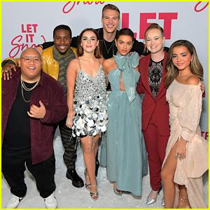 Isabela Merced, Kiernan Shipka & More Celebrate Premiere of 'Let It Snow' in Los Angeles