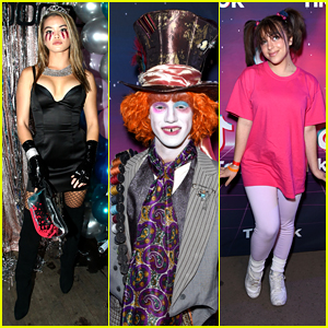 Paris Berelc & Baby Ariel Go All Out For Their Costumes at Separate Halloween Parties