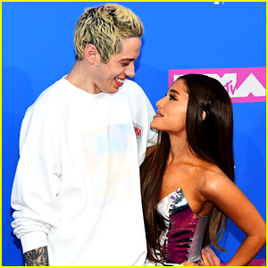 Here's What Pete Davidson Said After Being Asked About His Relationship With Ariana Grande