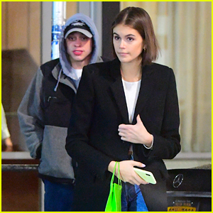 Kaia Gerber Steps Out With Pete Davidson For Dinner & Concert