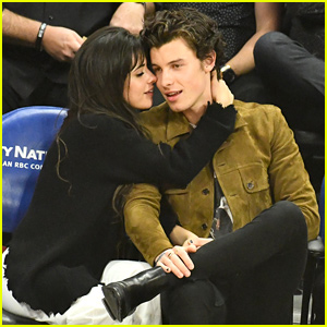 Shawn Mendes & Camila Cabello Have Date Night at Clippers Game After Julia Michaels' Birthday Party