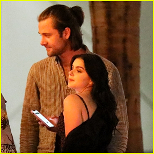Ariel Winter Holds Onto Luke Benward After a Night Out With Friends