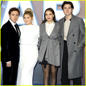 Bailee Madison Reunites With Meghan Trainor at 'Star Wars: The Rise of Skywalker' Premiere in London
