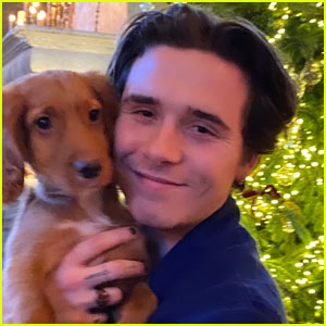 Brooklyn Beckham Introduces the Family's New Dog Sage!