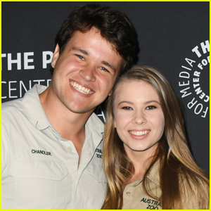 Bindi Irwin Jokes Her & Chandler Powell's Kids Will Be Born Wearing Khakis!