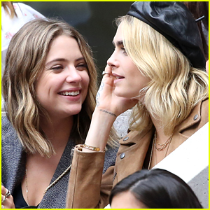 Cara Delevingne Comments on GF Ashley Benson's Hot Instagram Pic!