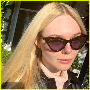 Elle Fanning 'Feels Like Herself' After Hair Coloring Session