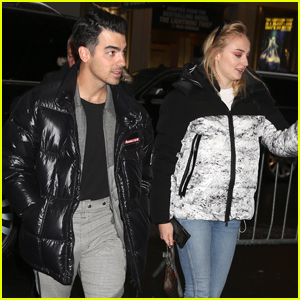 Joe Jonas & Sophie Turner Step Out for Date Night in NYC