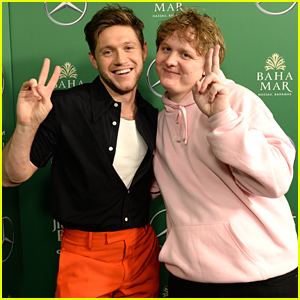 Niall Horan & Lewis Capaldi Ham It Up Backstage at Z100's Jingle Ball 2019