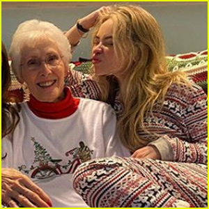 Sabrina Carpenter & Her Grandma Have the Best Holiday Plans!