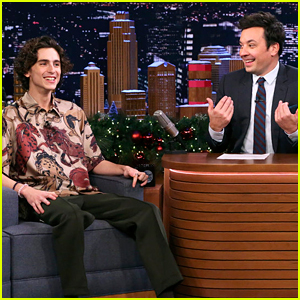 Timothee Chalamet Shows Off His Juggling Skills on 'Fallon' (Video)