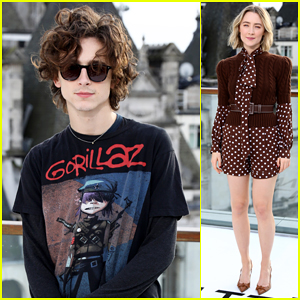 Timothee Chalamet & Saoirse Ronan Bring 'Little Women' To London!