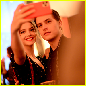 Dylan Sprouse & Barbara Palvin Attend The Kooples' Magical Night Event in Paris