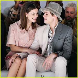 Dylan Sprouse & Barbara Palvin Sit Front Row with Cody Simpson at Fendi Fashion Show!