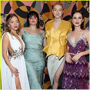 'Euphoria' Cast Members Reunite at Golden Globes After Party