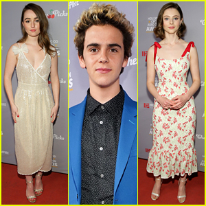 Kaitlyn Dever, Jack Dylan Grazer, & More Get Honored at Hollywood Critics Awards!