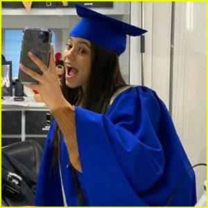 Jenna Ortega Graduated High School on a Film Set!