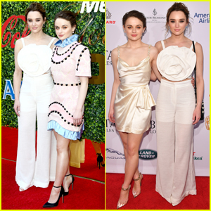 Joey & Hunter King Go Glam for Golden Globes Weekend Parties!