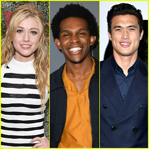 CW Stars Katherine McNamara, Charles Melton & Camrus Johnson Spend New Year's Day Together