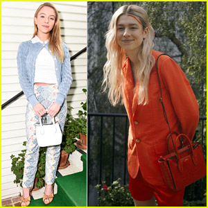 Euphoria's Sydney Sweeney & Hunter Schafer Attend Polo Ralph Lauren Luncheon