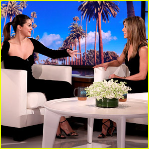 Selena Gomez Lets Out Her 'Friends' Fangirl During Interview with Jennifer Aniston