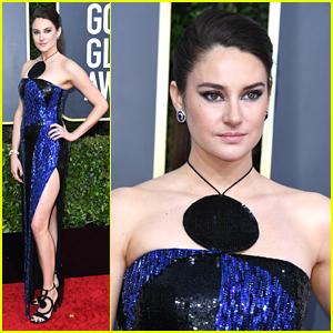 Shailene Woodley Bold Blue Dress Is Fashion Goals at Golden Globes 2020