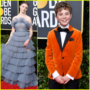 Thomasin McKenzie & Roman Griffin Davis Bring 'Jojo Rabbit' to Golden Globes 2020!