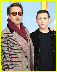 Are Tom Holland & Robert Downey Jr Starring In a 'Back To The Future' Remake?