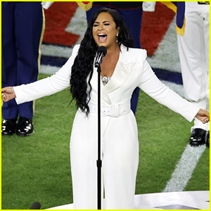 Watch Demi Lovato's Super Bowl 2020 Performance of the National Anthem!