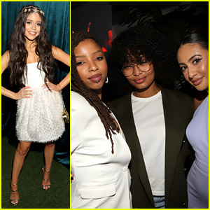 Jenna Ortega & 'grown-ish' Cast Step Out For NAACP Image Awards After Party