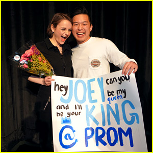 Joey King Receives First Prom-posal After Giving Inspiring Speech to Portola High Schoolers