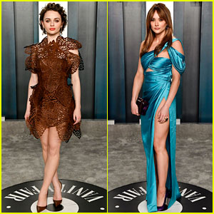 Joey King Attends Oscars After Party for Second Year in a Row!